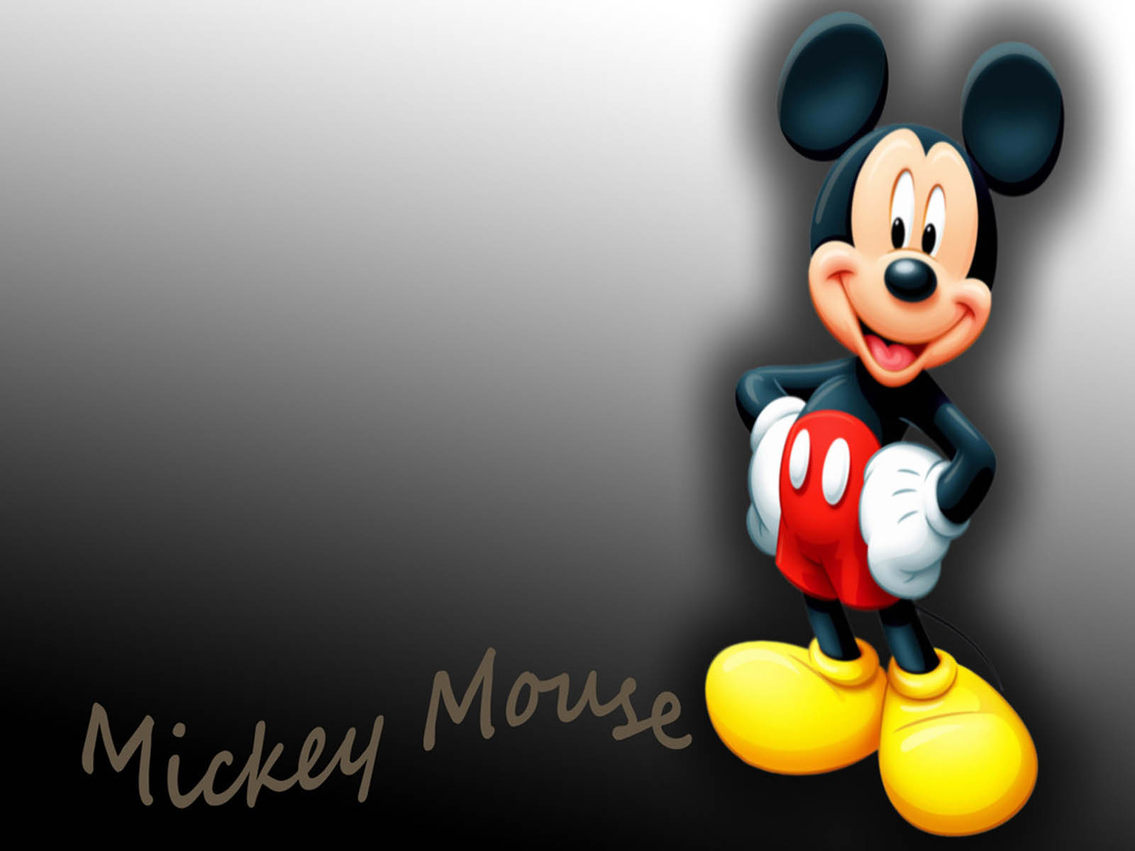 49 Mickey Mouse Wallpaper Desktop On Wallpapersafari