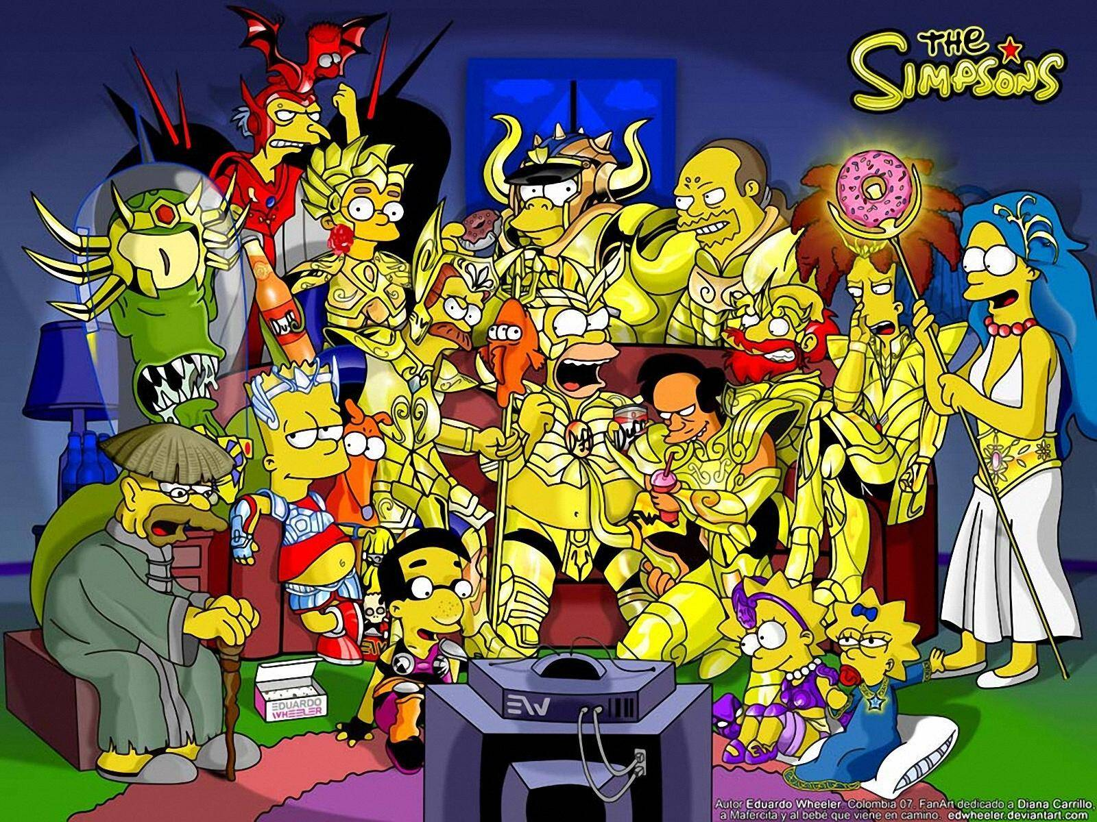 Simpsons   The Simpsons Wallpaper 1600x1200