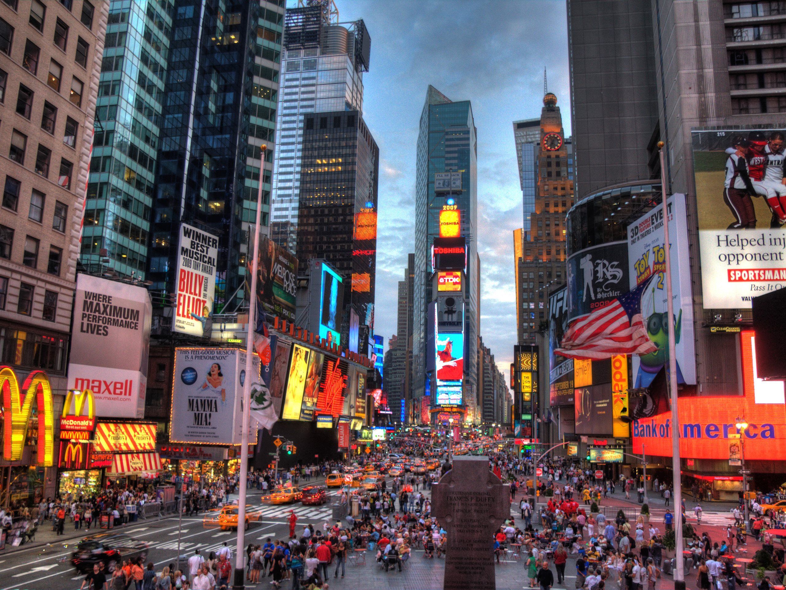 New York Desktop Wallpapers for HD Widescreen and Mobile 2560x1920