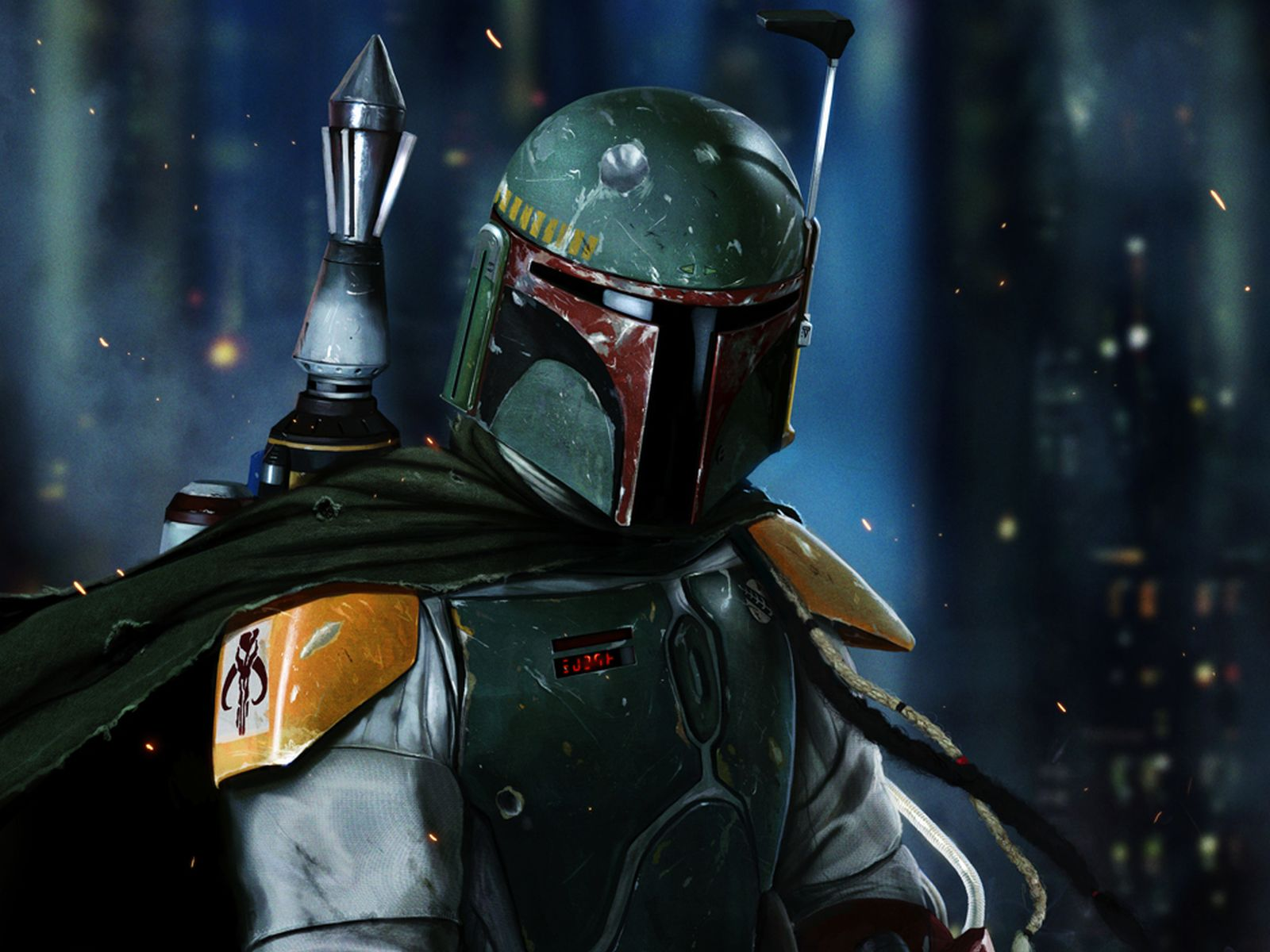 Boba Fett Wallpaper 2 1600x1200