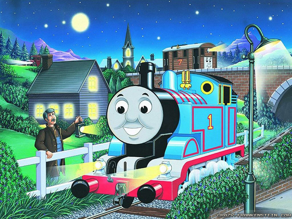 Thomas The Tank Engine Wall Stickers Thomas Train Wallpaper Wallpapersafari