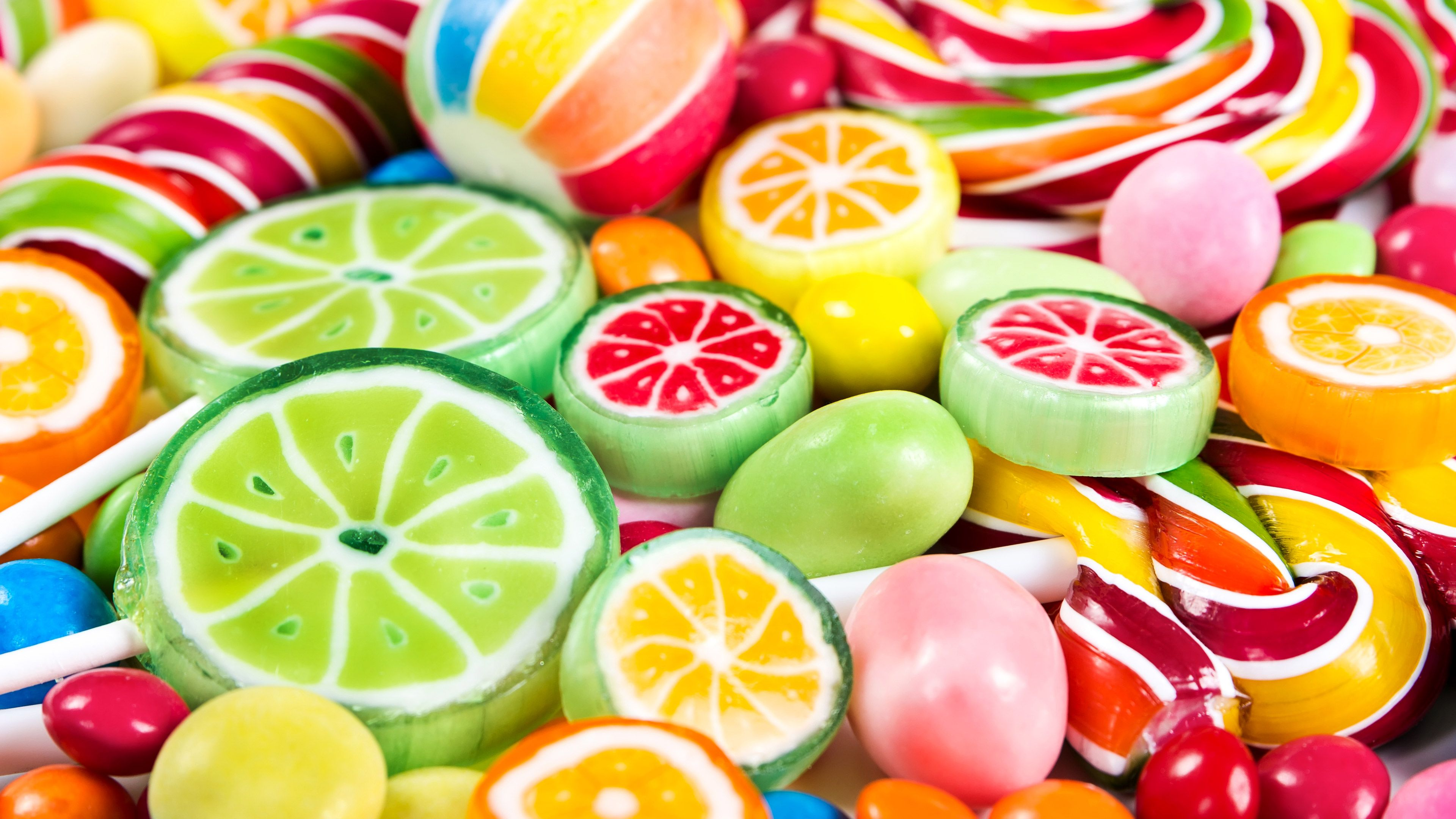 Colorful Candy Wallpapers   Top Colorful Candy Backgrounds 3840x2160