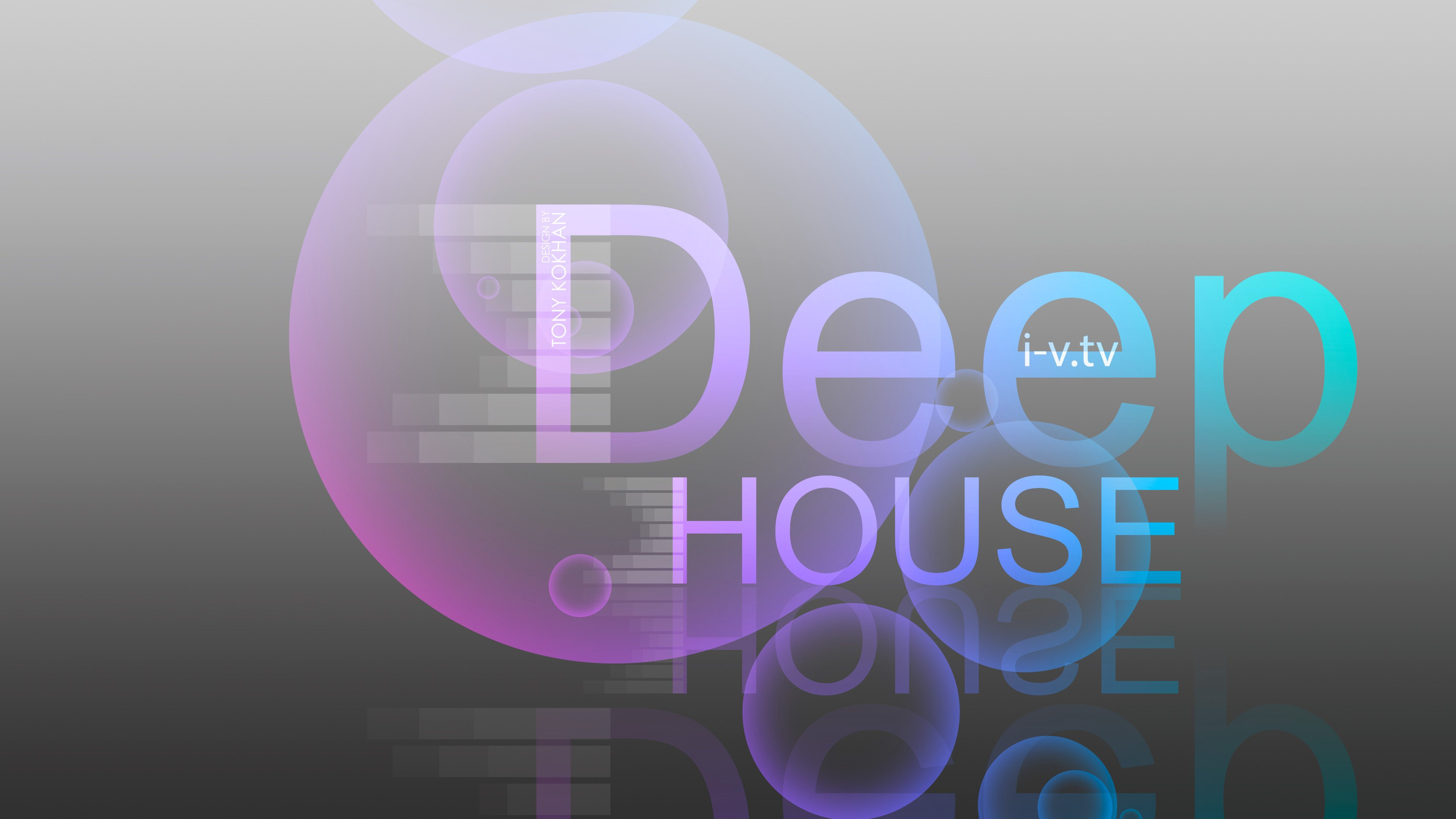 Deep House Music eQ Bubble Style 2015 Art Sound Wallpapers 3840x2160