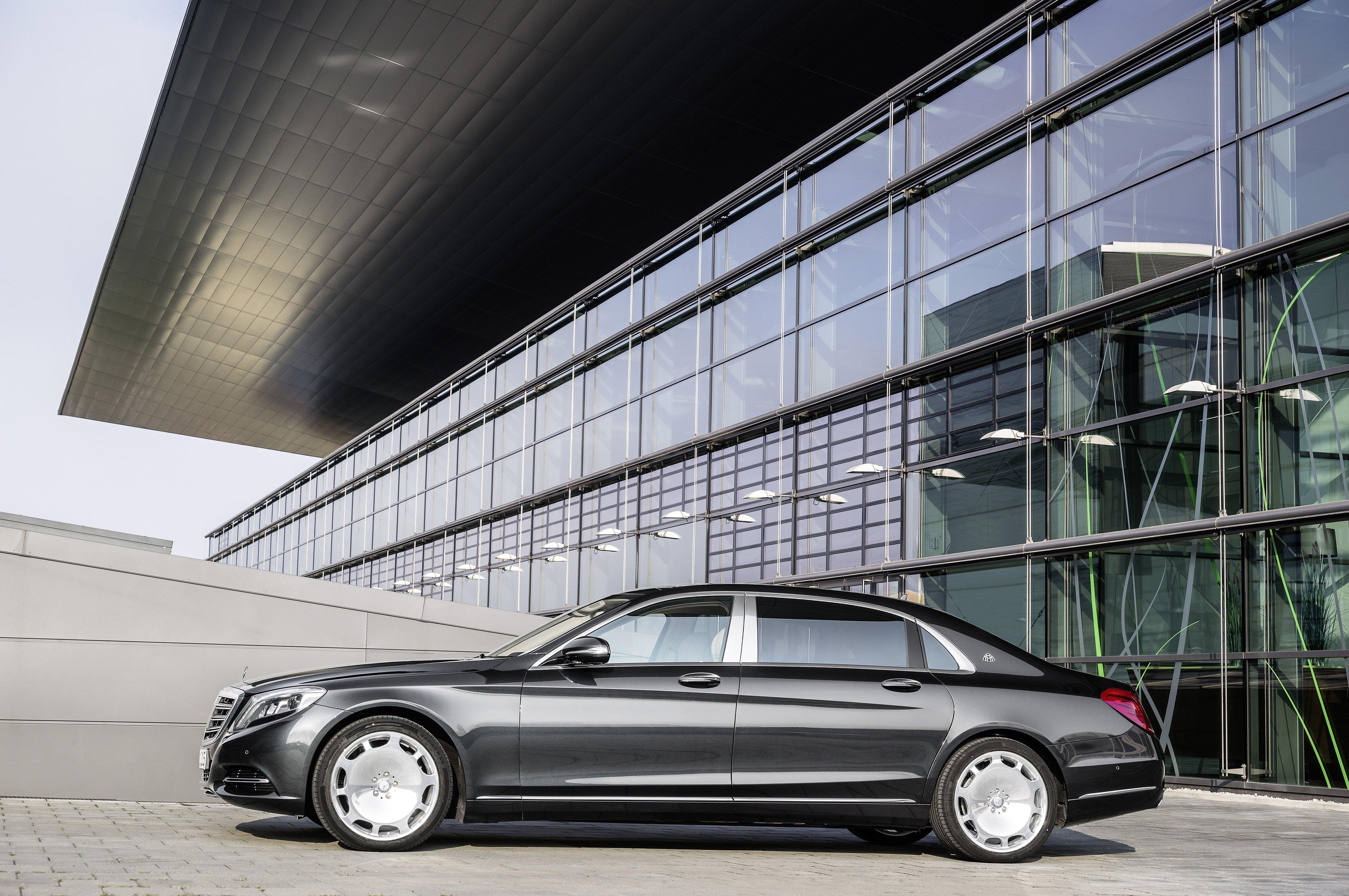 2015 Mercedes Benz Maybach S600 X222 luxury wallpaper 4096x2722