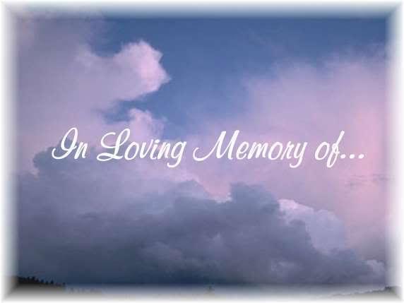 In Loving Memory Wallpaper