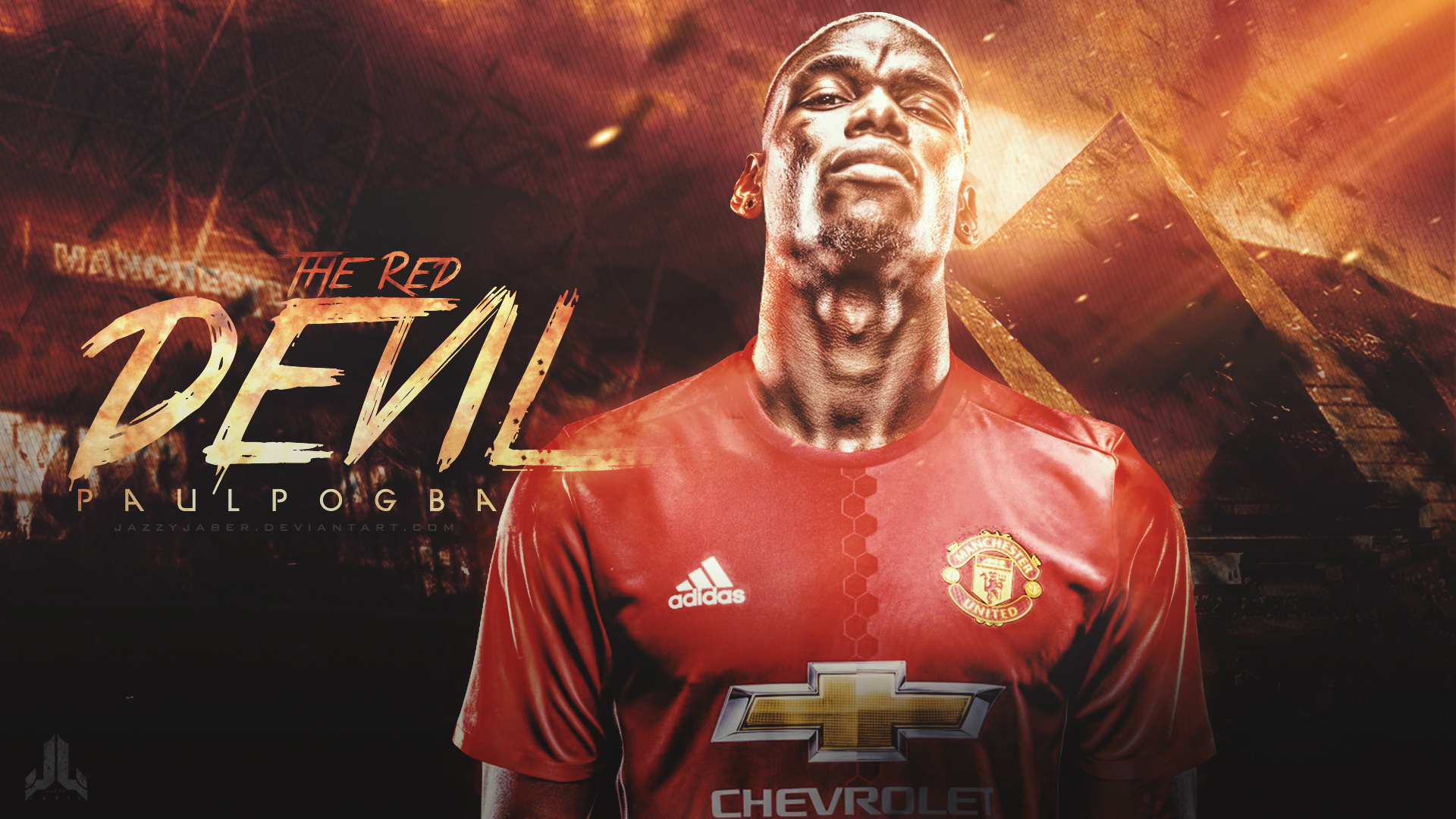 Pogba 2018 Wallpapers