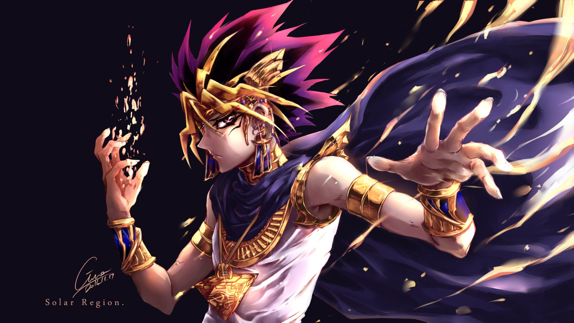 1 Atem Yu Gi Oh HD Wallpapers Background Images 1920x1080