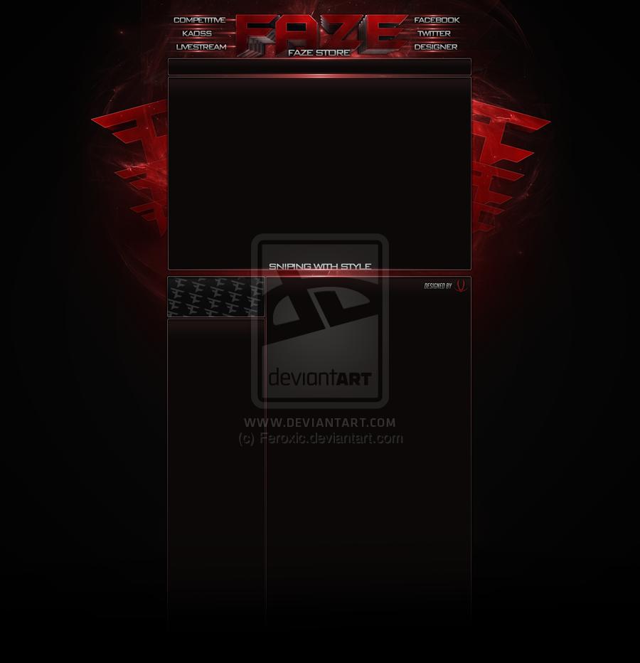 FaZe Clan Background by Feroxic 900x932