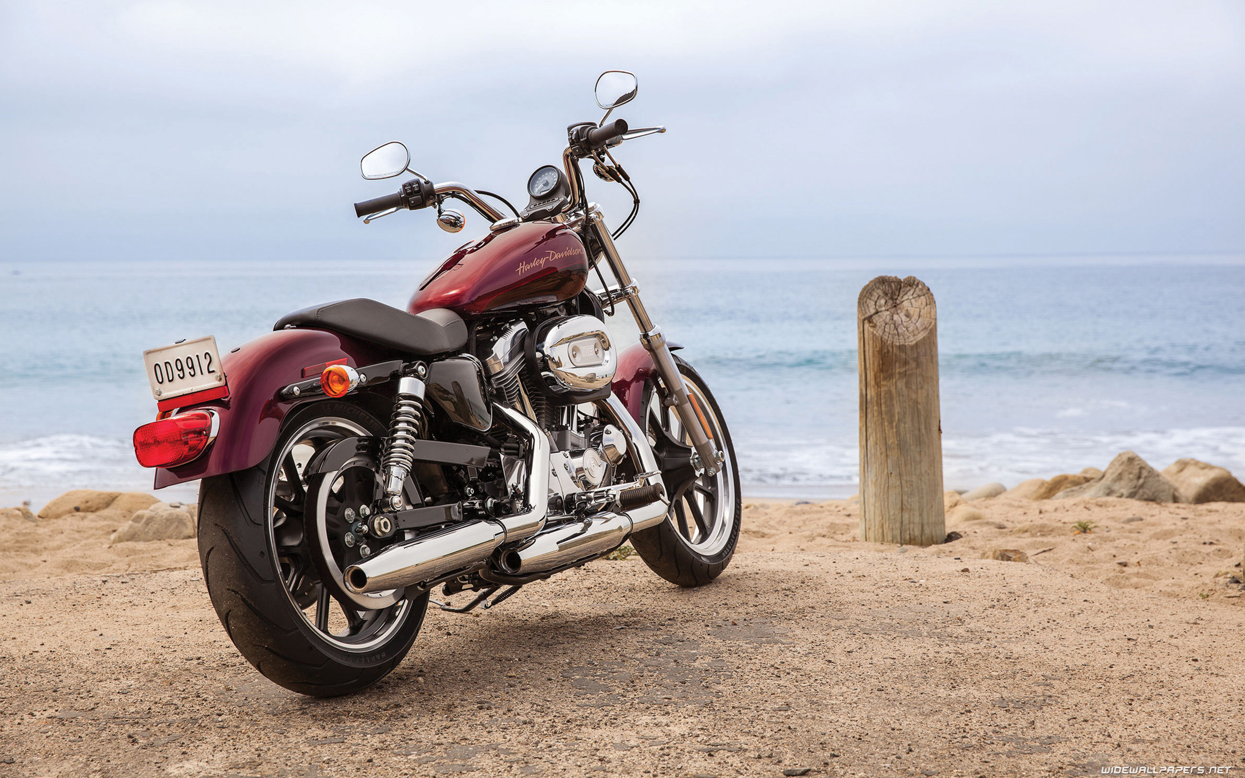 Harley Davidson Sportster motorcycle desktop wallpapers 4K 2560x1600