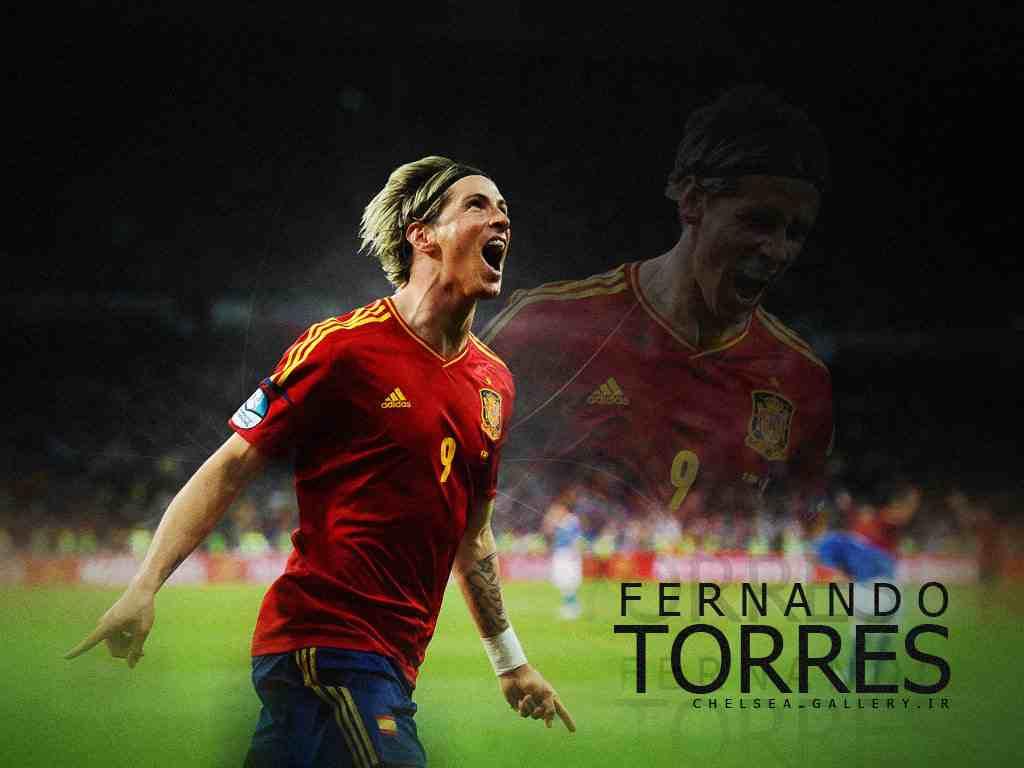 Football Super Star Player Fernando Torres New HD 1024x768
