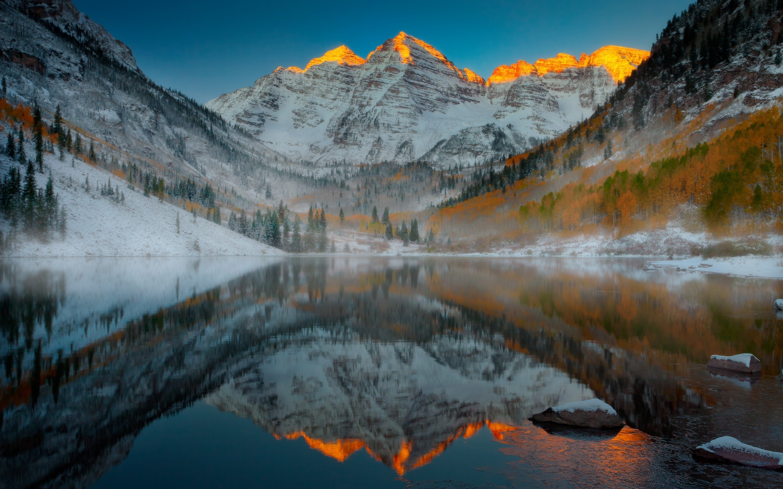Aspen Mountain Colorado 2880 x 1800 Retina Display Wallpaper 2880x1800