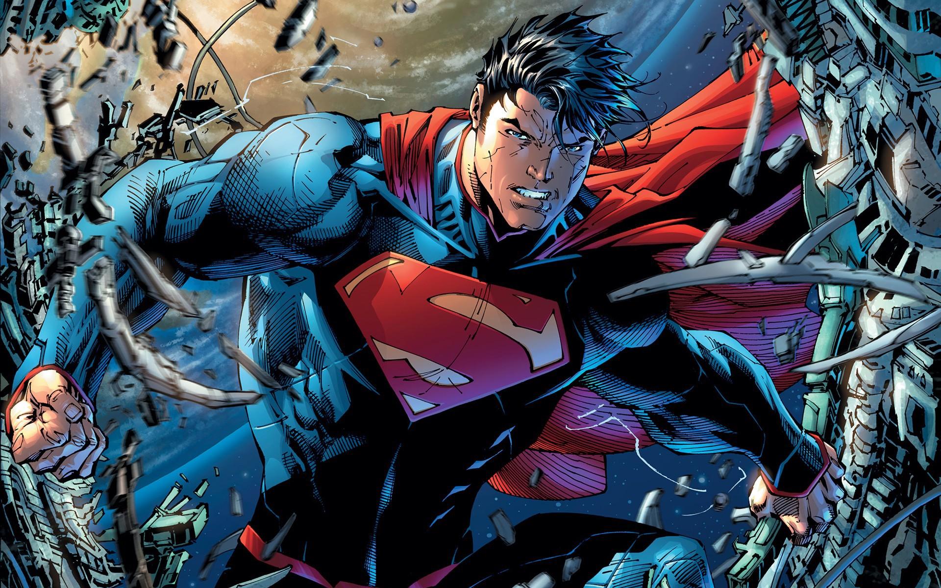 Jim Lee Superman New 52 wallpaper 225778 1920x1200