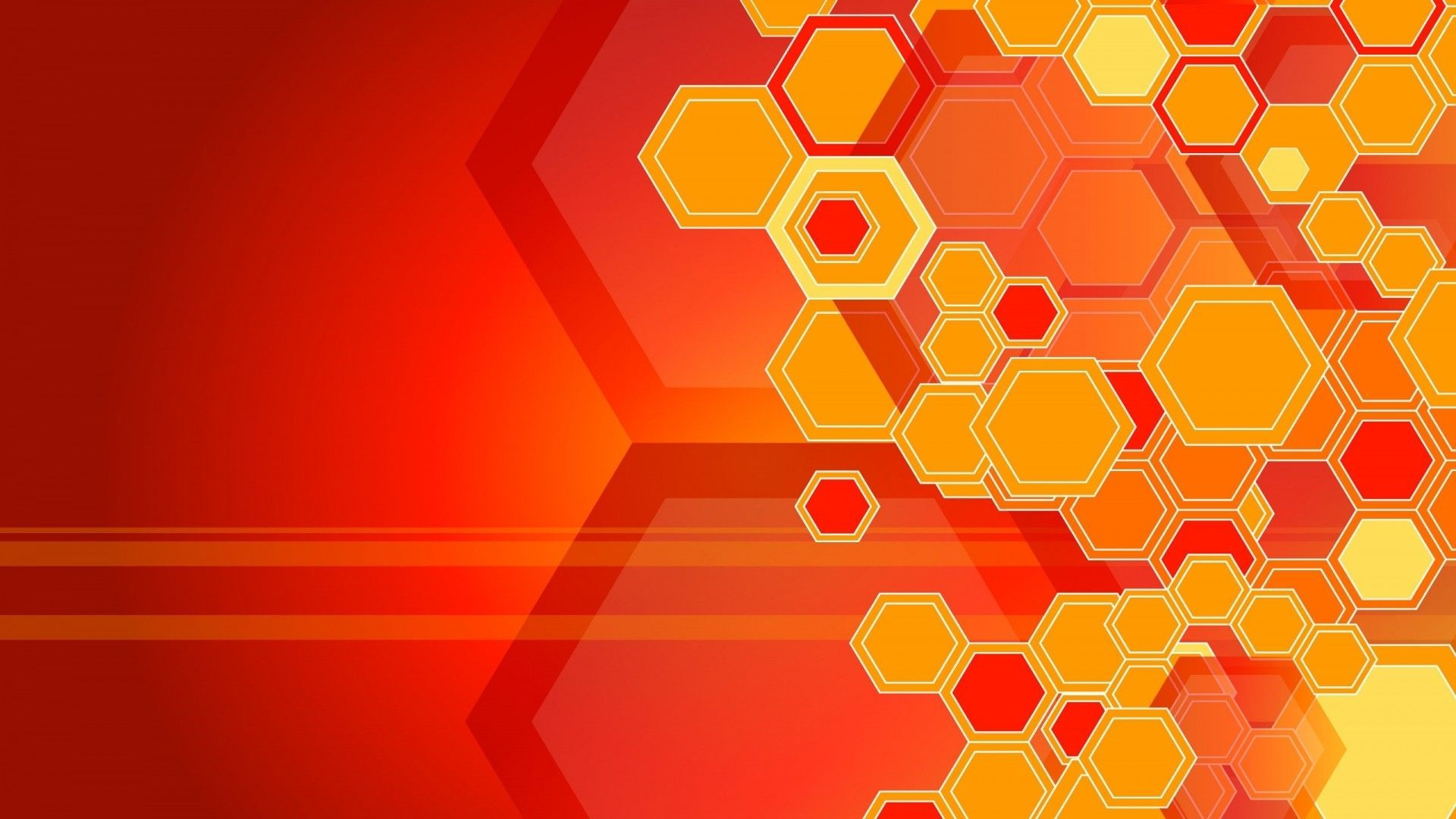 Orange Geometric Wallpapers   Top Orange Geometric 1920x1080
