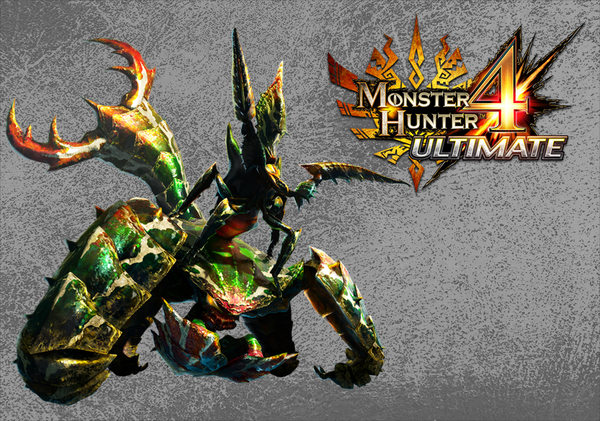 monster couple joins the Monster Hunter 4 Ultimate roster featuring 600x421