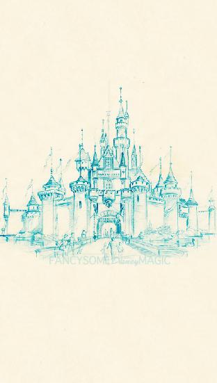 43 Disney Castle Iphone Wallpaper On Wallpapersafari