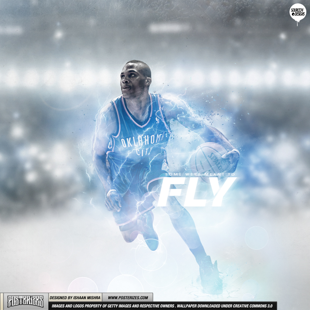 Russell Westbrook Flight Wallpaper Posterizes NBA Wallpapers 1024x1024