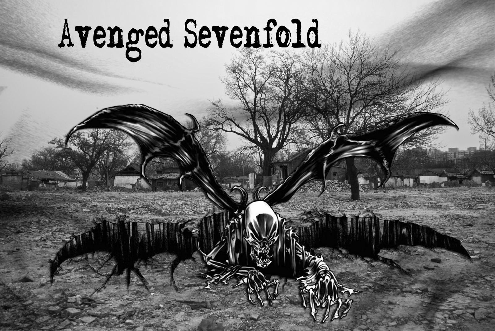 Avenged Sevenfold Death Bat By BUfFcRaCkItO 1600x1071 View 0 Tukang Flash Wallpaper