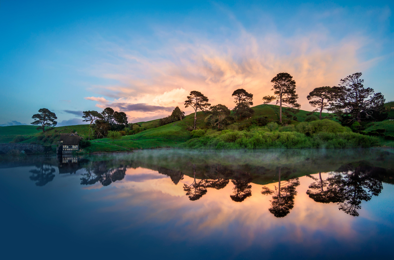 Hobbiton In The Morning   New Zealand Hobbiton 1774467   HD 5769x3802