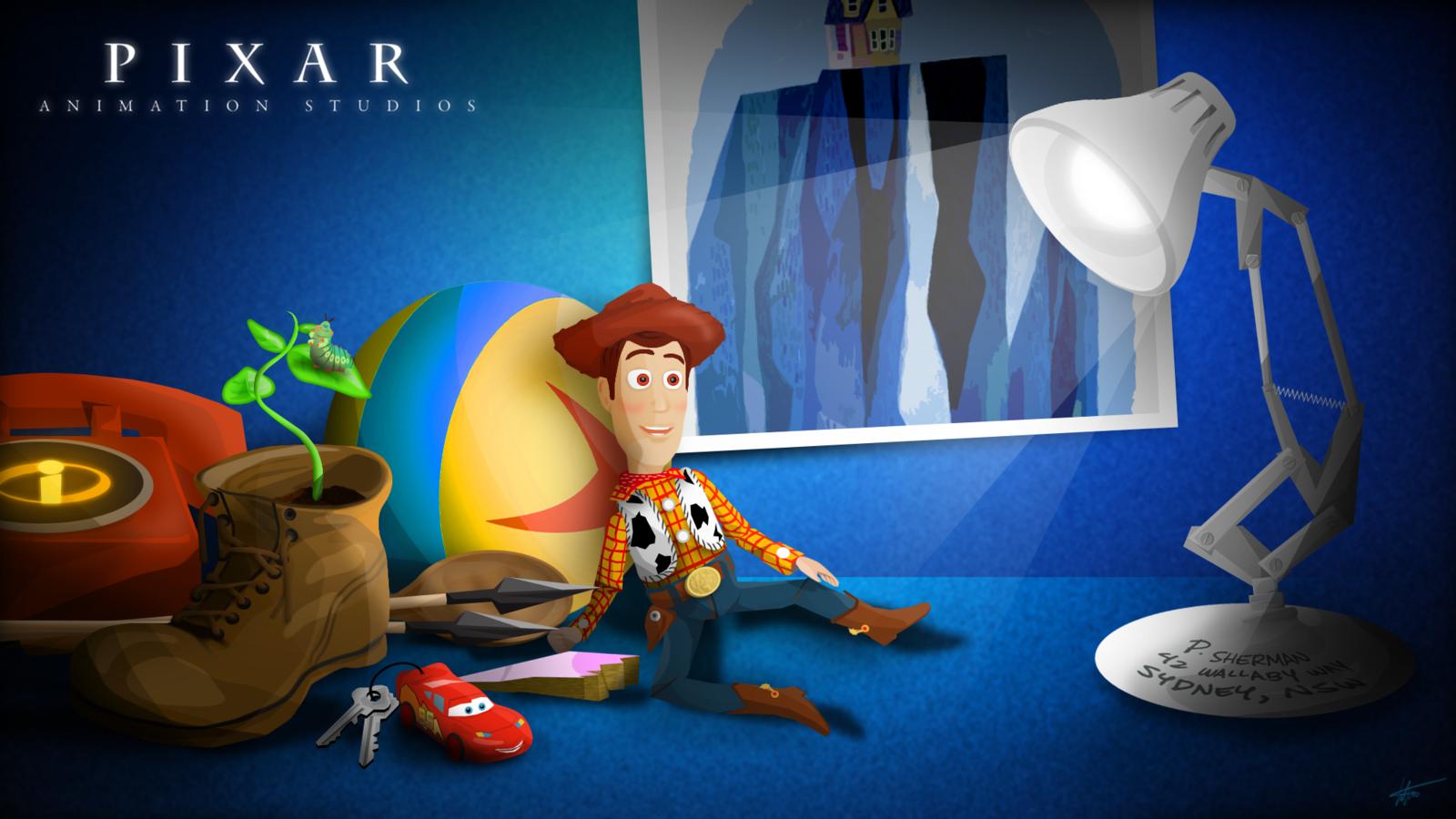 74 Pixar Wallpaper On Wallpapersafari