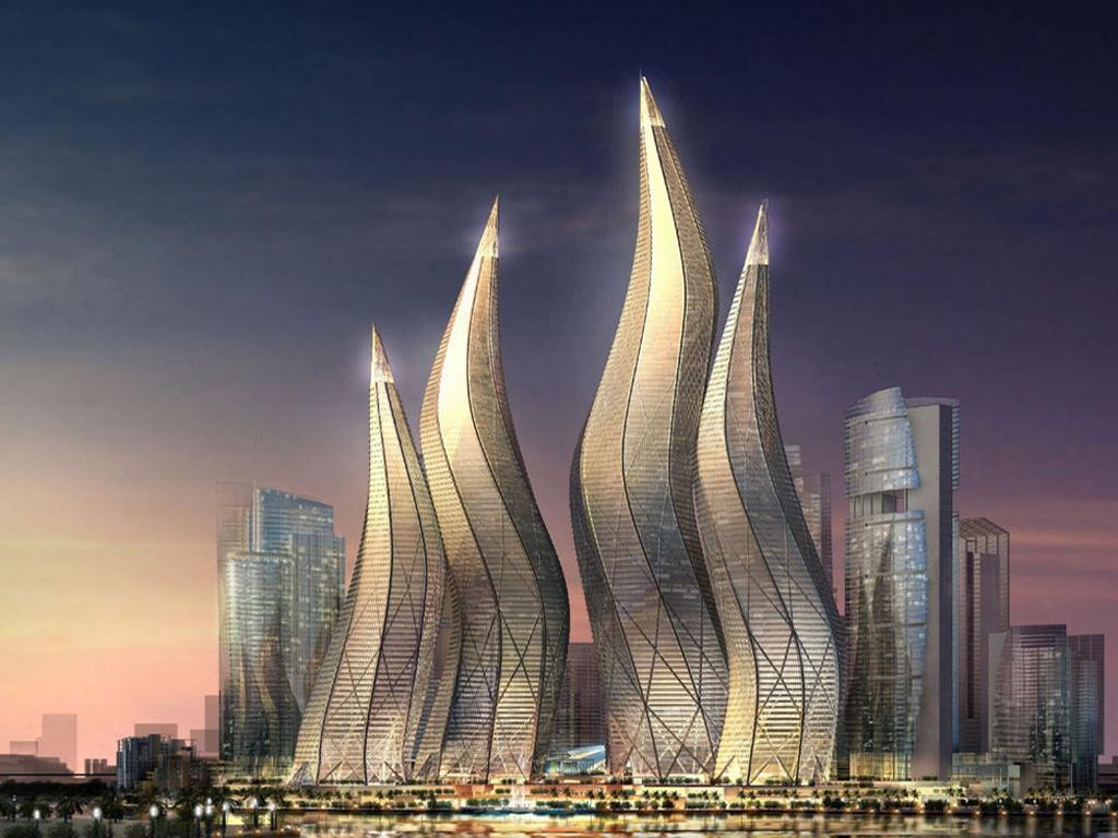 Дубай архитектура фото