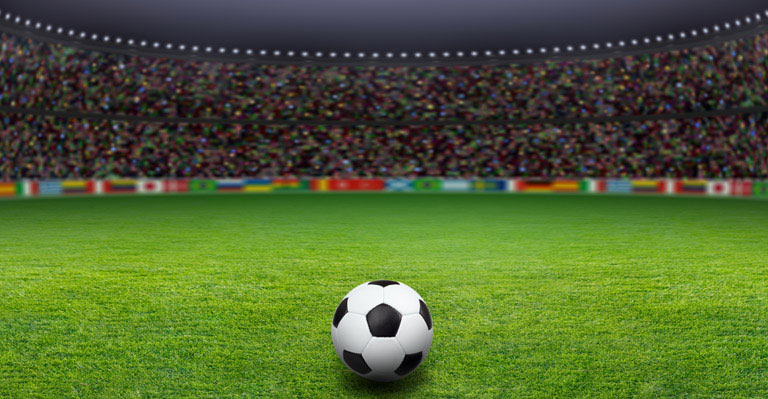 Soccer Stadium Wallpaper Wall Decor 768x399
