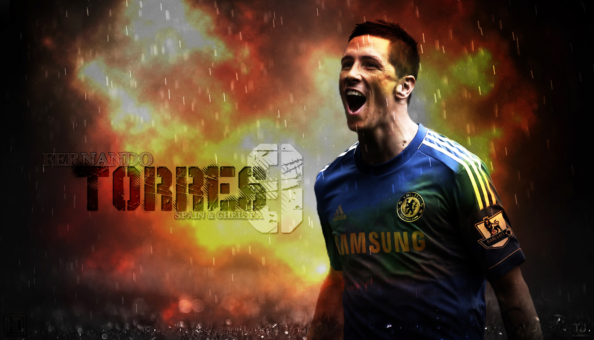 Fernando Torres Celebration Wallpaper   Football HD Wallpapers 1920x1100