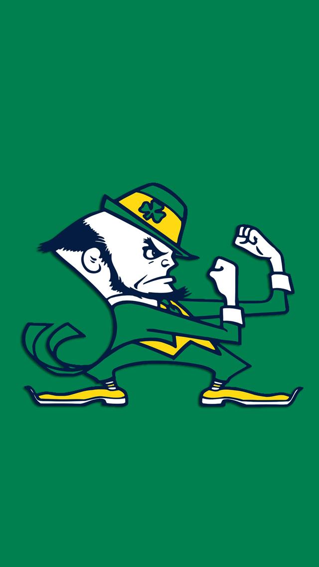 Notre Dame Fighting Irish 640x1136
