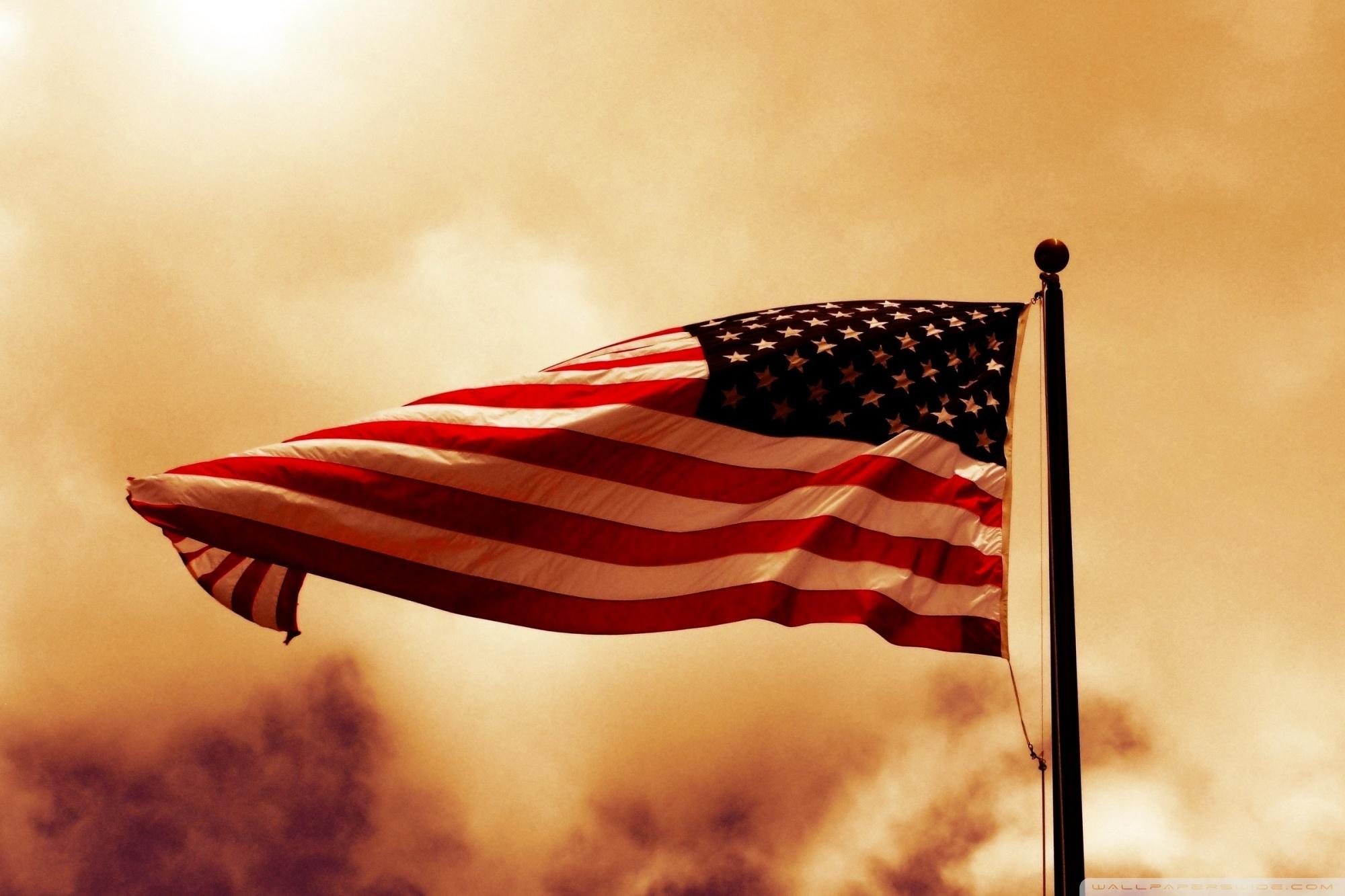 USA Flag 4K HD Desktop Wallpaper for 4K Ultra HD TV Dual 2000x1333