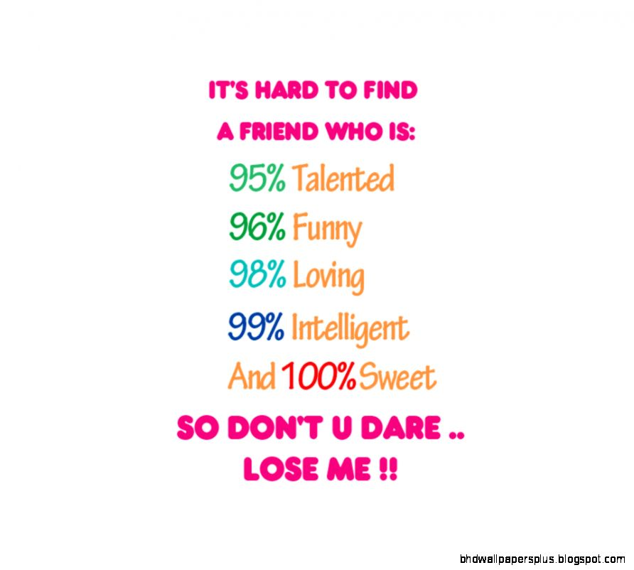 I Love You Friend Wallpaper: Best Friend Wallpapers Quotes