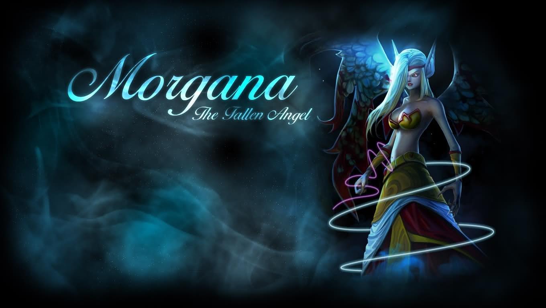 legends morgana the fallen angel Wallpaper Wallpapers Download 1360x768