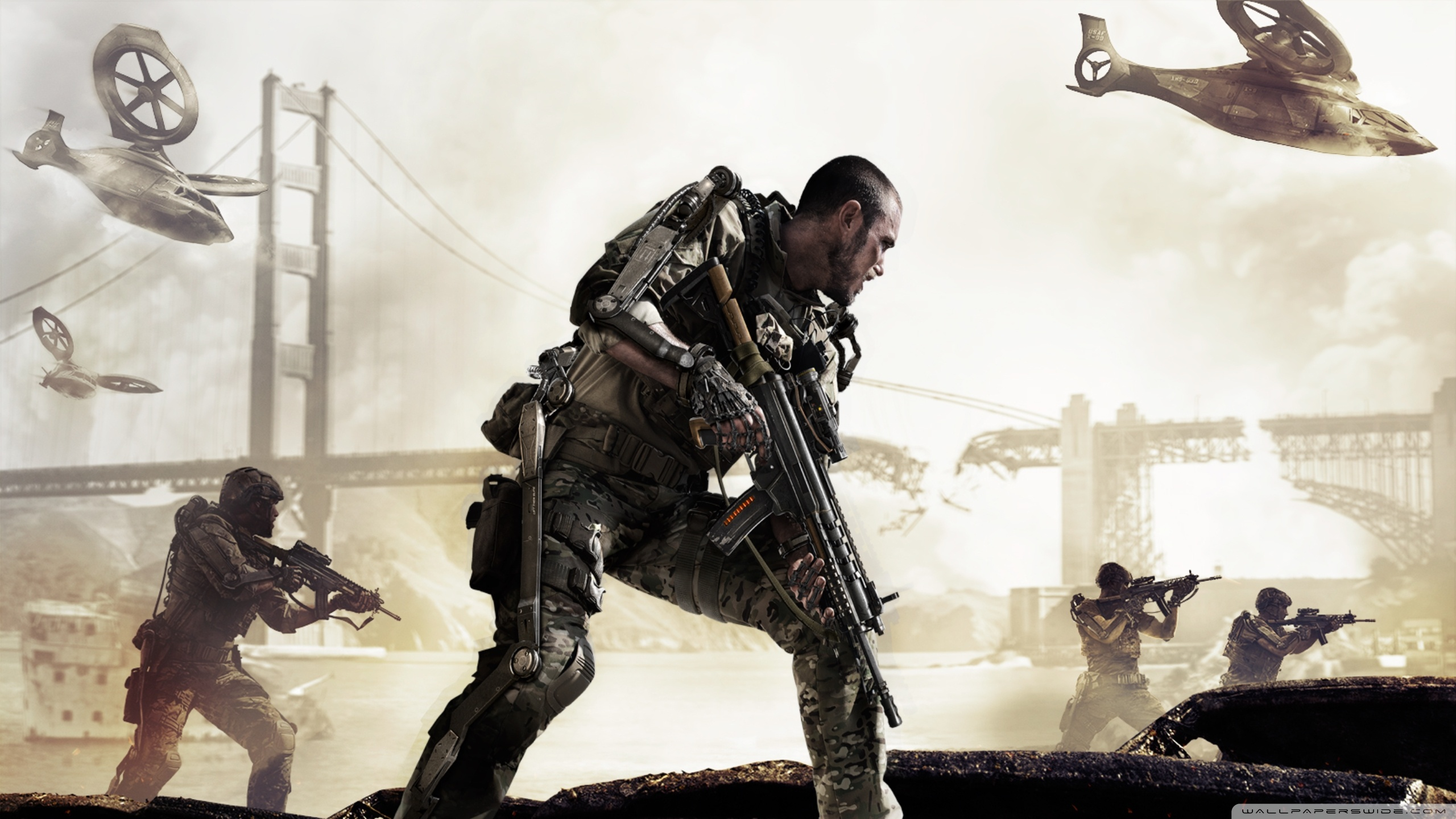 download Call of Duty Advanced Warfare 4K HD Desktop 2560x1440