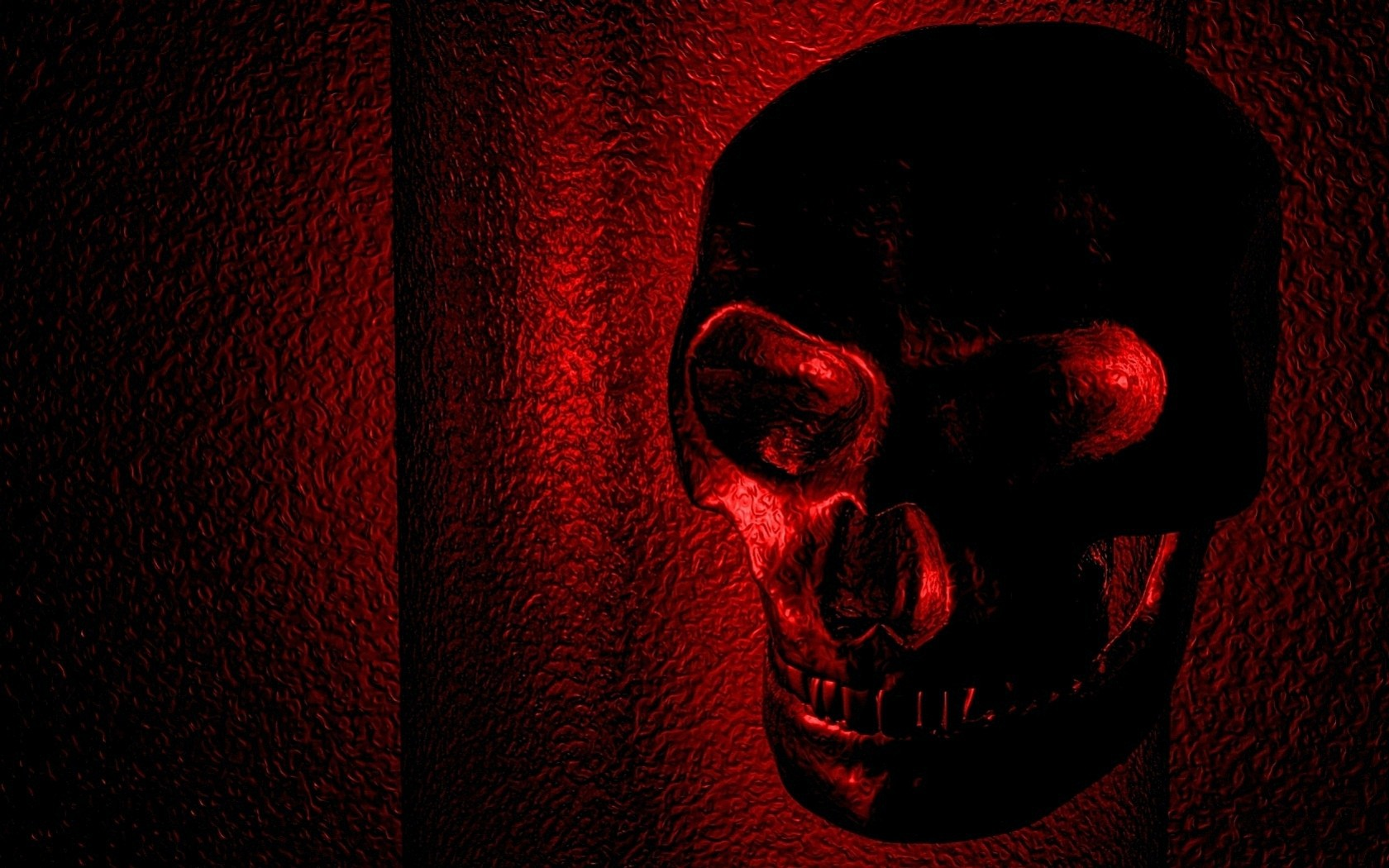 Red Skull Wallpaper Red skull wallpapers and 1680x1050