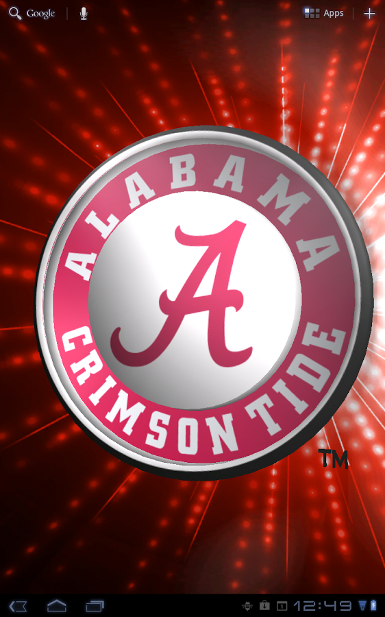 Alabama Crimson Tide LWP Tone   Android Apps on Google Play 562x900