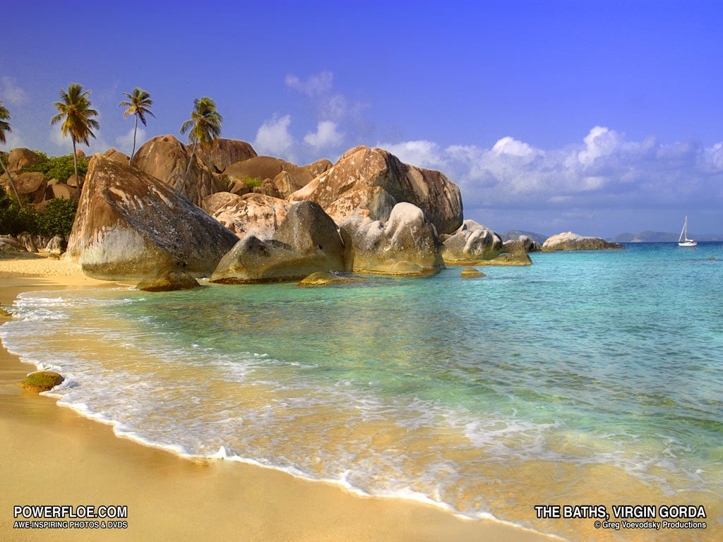 Caribbean Island Desktop Backgrounds 1024x768