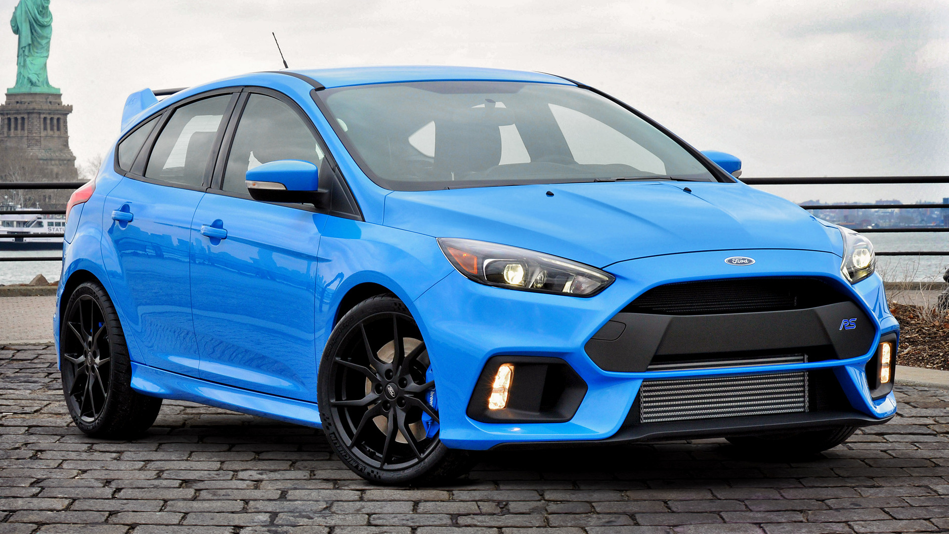 Ford Focus RS 2016 US Wallpapers and HD Images 1920x1080