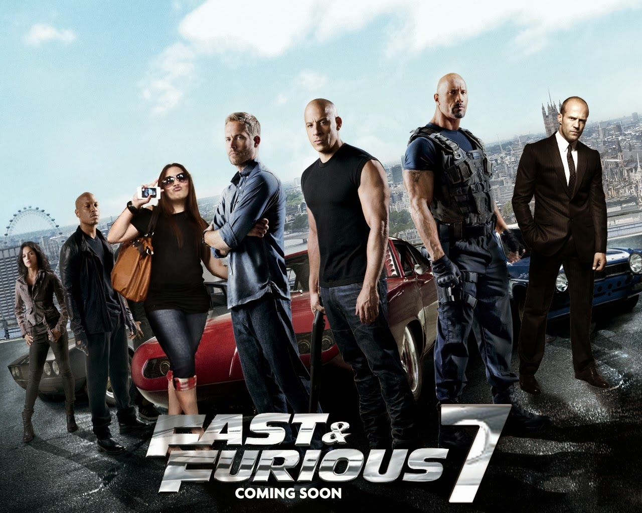 Fast and Furious 7 Posters HD Wallpaper 1280x1024