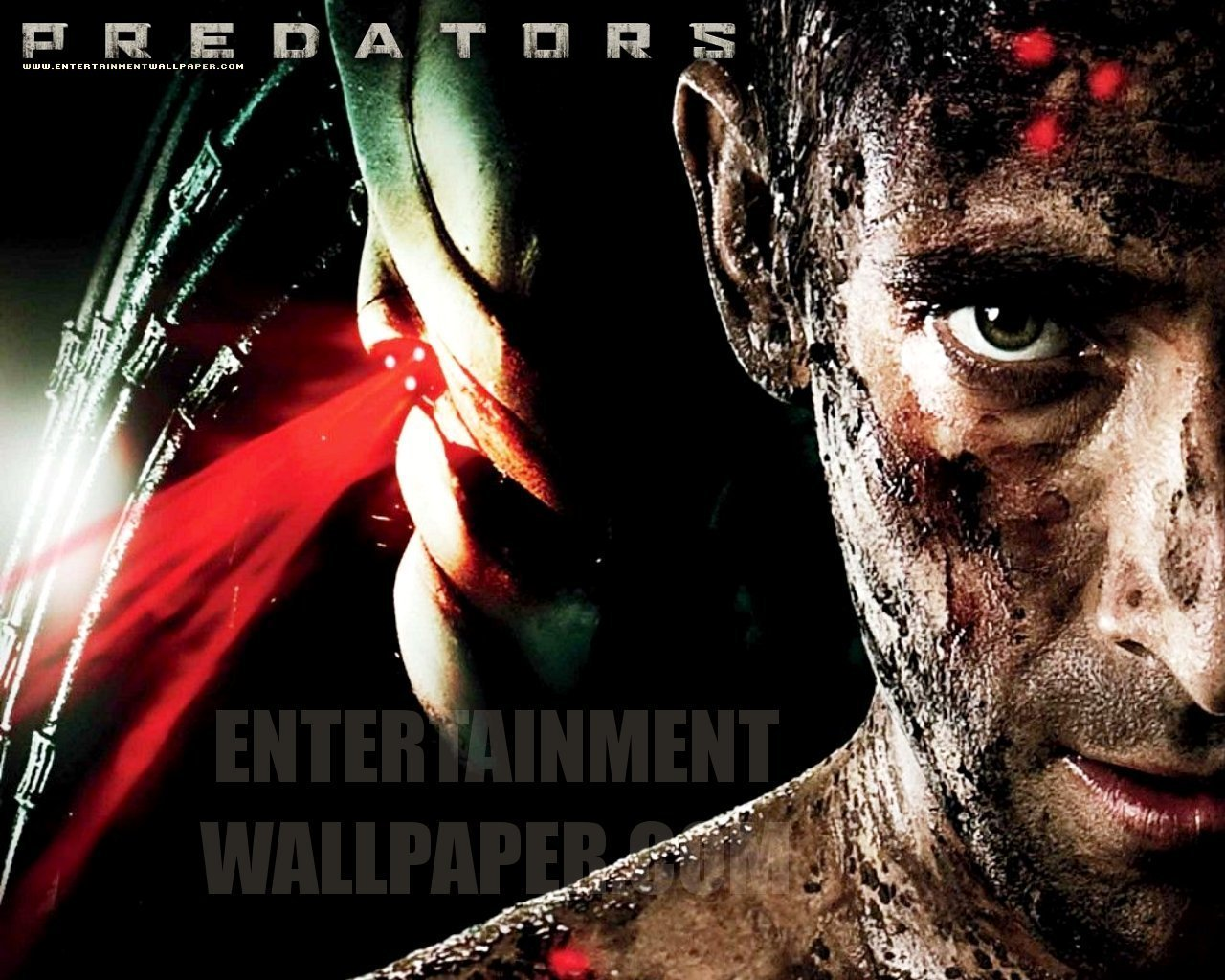 Predators 2010 movie images Predators Official Wallpaper HD 1280x1024