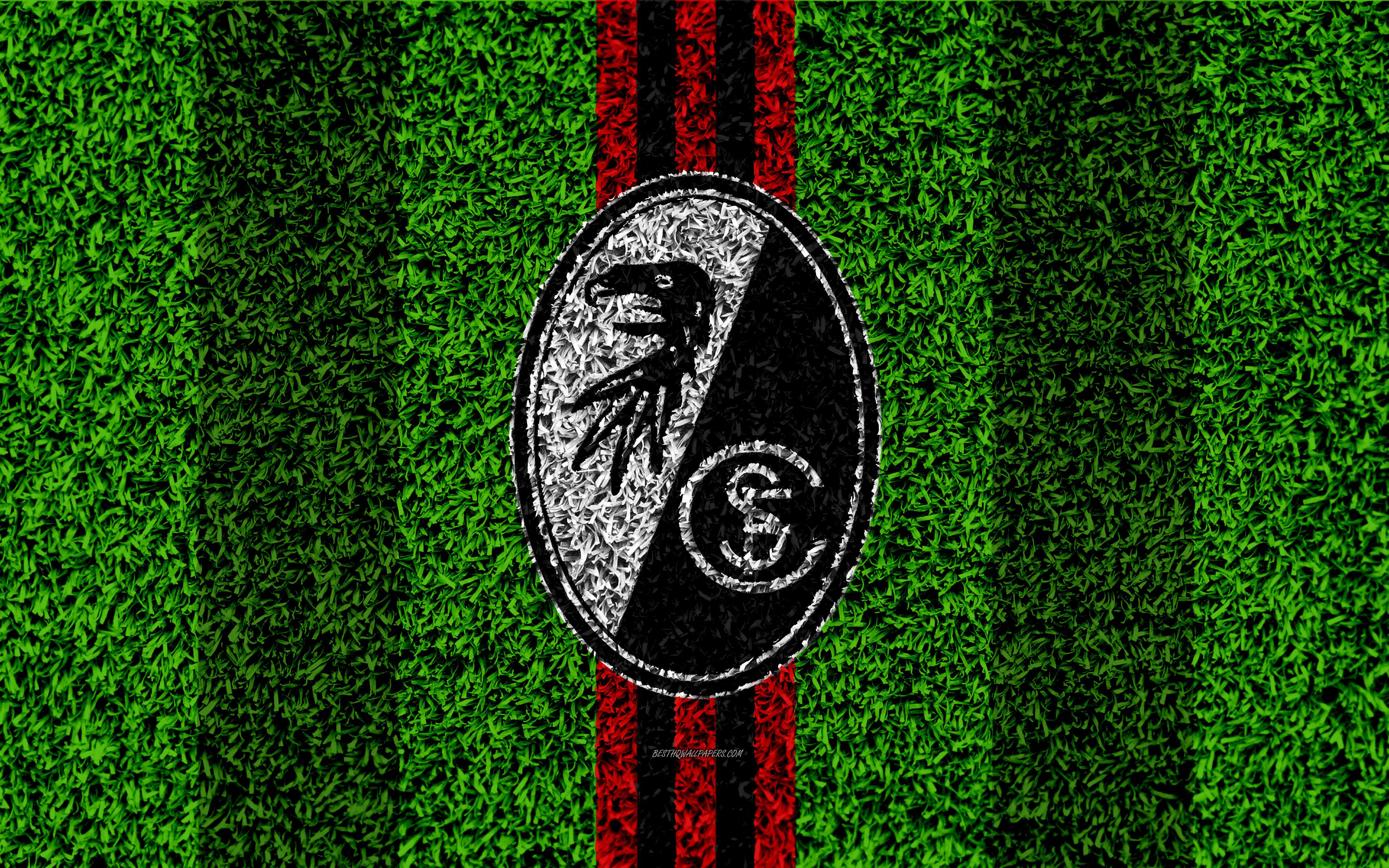 Download wallpapers SC Freiburg 4k German football club 3840x2400