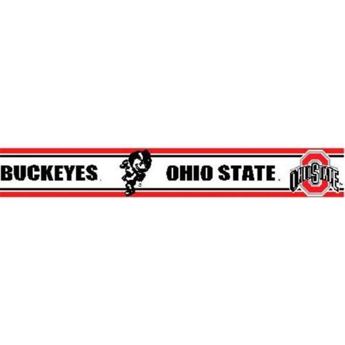 Ohio State Buckeyes 5 5 inch Height Wallpaper Border   Walmartcom 500x500
