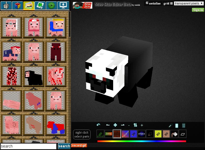 Nova Skin Minecraft mob editor   Album on Imgur 833x609