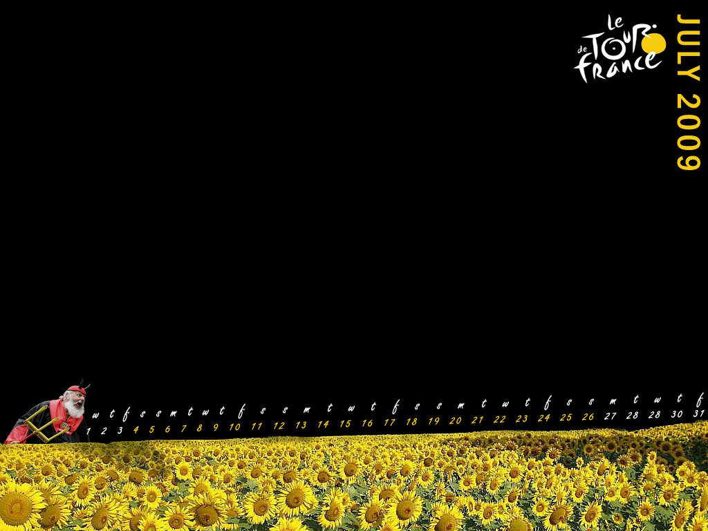 2009 Tour De France Wallpaper 1024x768