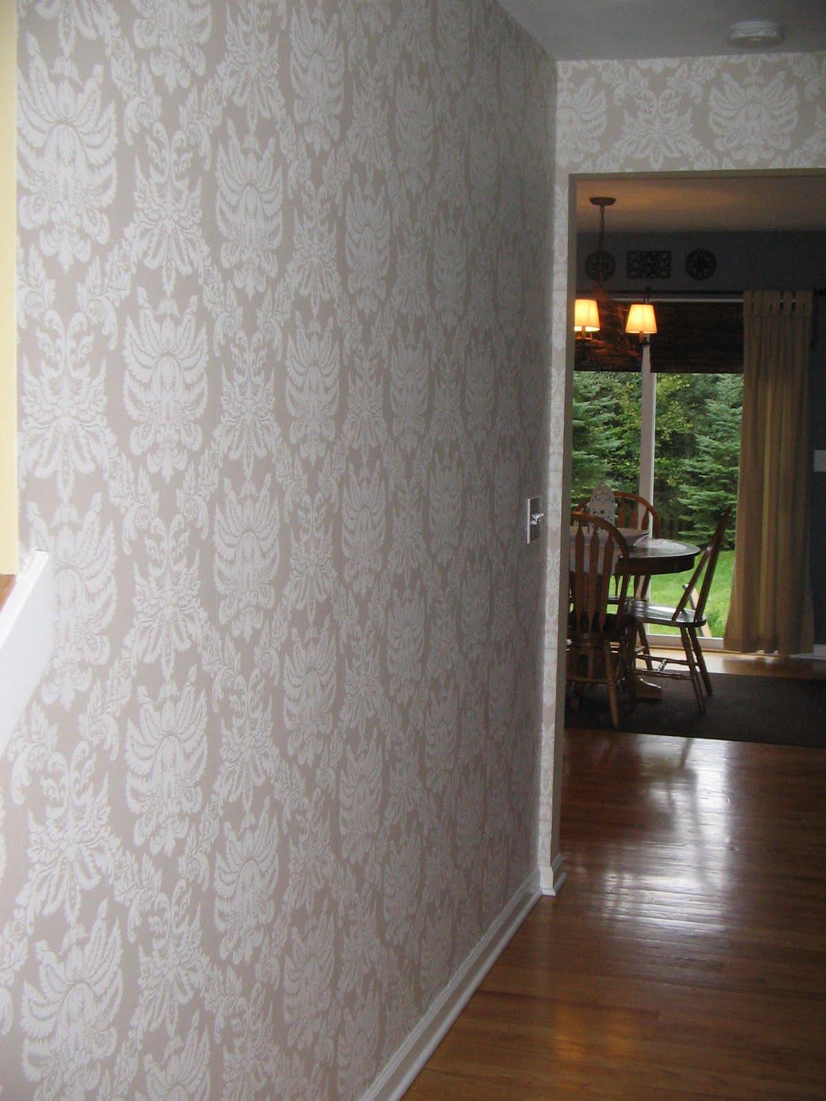 Wallpaper for foyer area wallpapersafari for Foyer wallpaper ideas