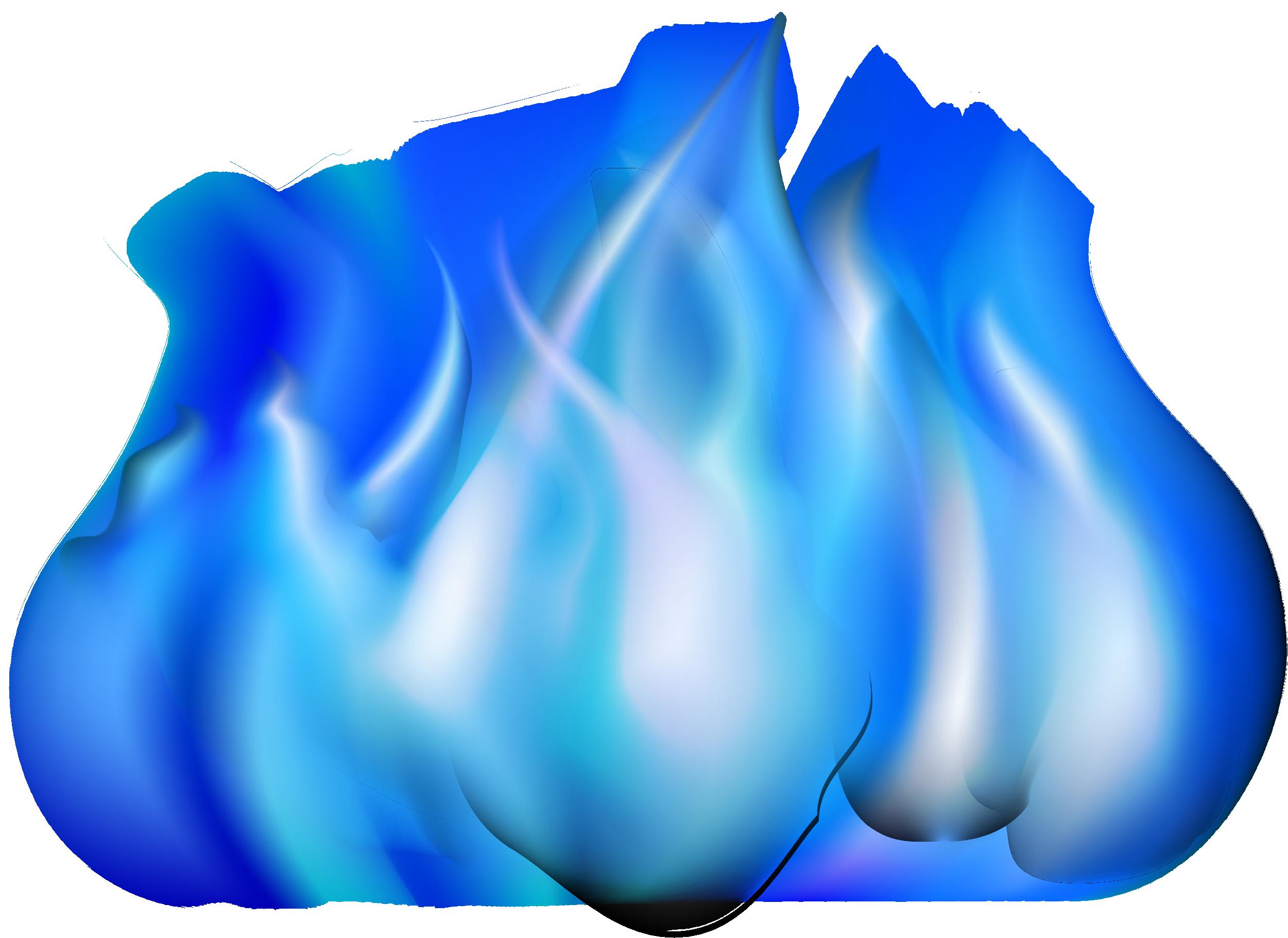 Free download Blue Flame Gratis Blue Simple Flame Ef ...
