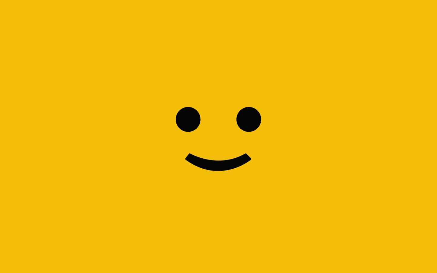 Wallpapers   Happy Face Yellow wallpaper 1440x900