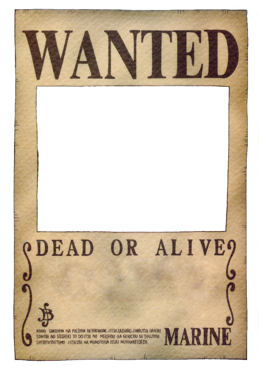 Download One Piece Wanted Poster By Ei819 848x1200 66 One Piece