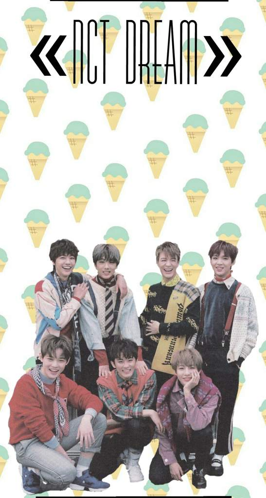 2018 WALLPAPER EDITED BY ME NCT DREAM Amino 547x1024