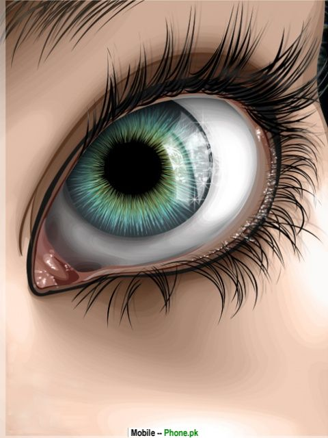 Beautiful eyes Wallpaper for Mobile 480x640