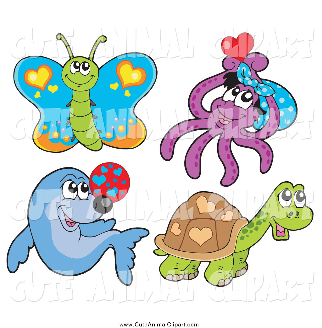Cute Butterfly Clip Art Vector Clip Art Of A Cute Butterfly Octopus 1024x1044