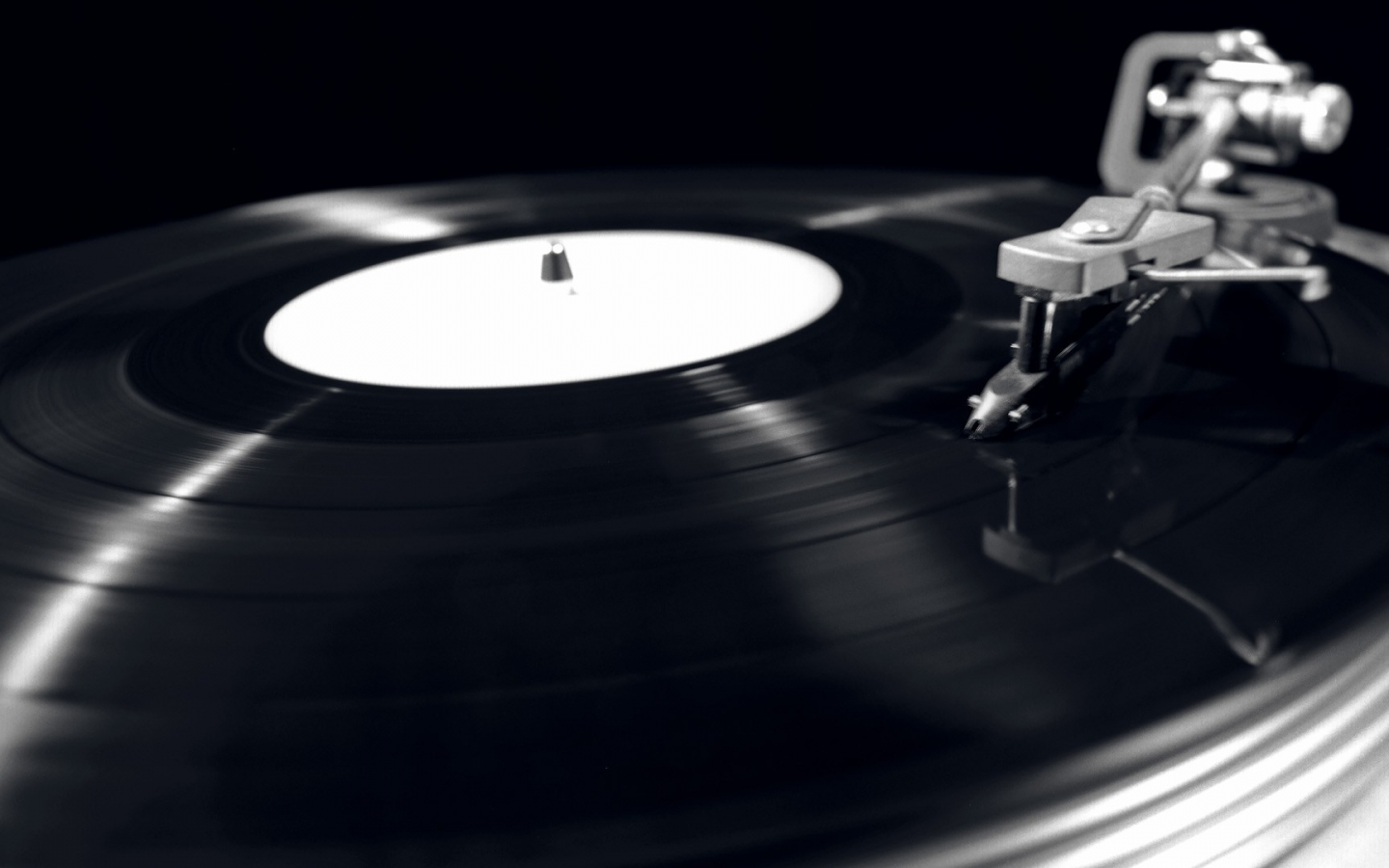 world vinyl record player monochrome gramophone 1920x1080 wallpaper 1440x900