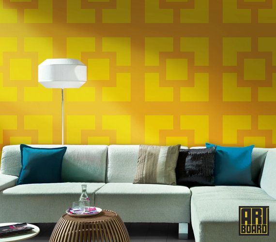 self adhesive DIY wallpaper Tile Wallpaper Pinterest 570x499